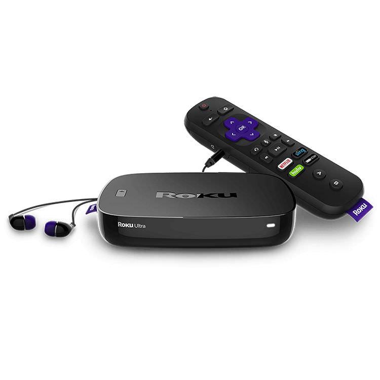 Roku 4660R Ultra Streaming Media Player Black