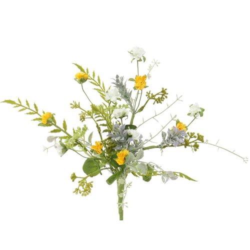 August Grove Artificial Wildflower Stem (Set of 2)