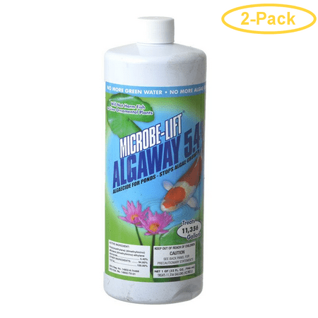 Image of Microbe-Lift Algaway 5.4 for Ponds 32 oz (Treats 11,356 Gallons) - Pack of 2
