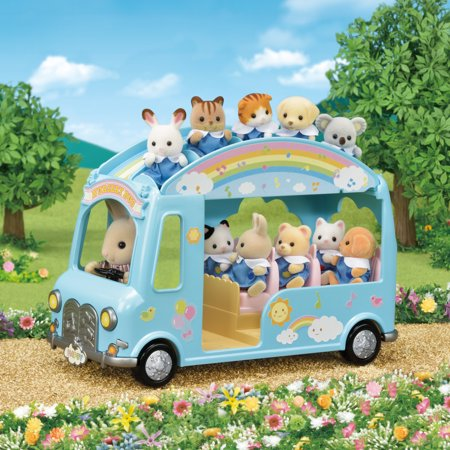 Town Bus - Calico Critters Sunshine Nursery Bus