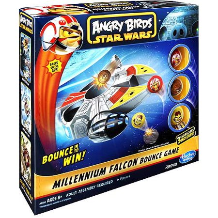 Star Wars Angry Birds Millennium Falcon Bounce Game - Angry Birds Halloween 3-13 Three Stars