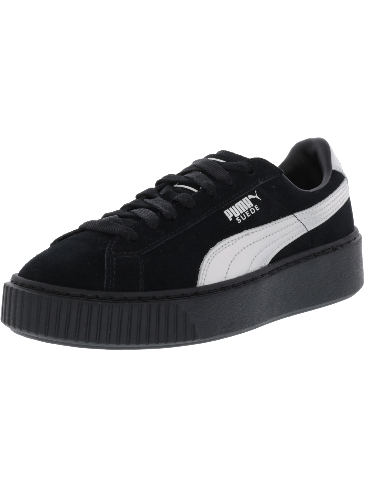puma all black womens sneakers
