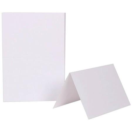 Blank Card Paper (JAM Paper Blank Foldover Cards, 4 5/8 x 6 1/4, White, 100/pack )