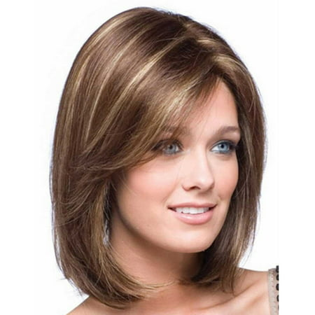 Wigs for Women, Coxeer Short Bob Hair Heat Resistant Wig Cosplay Wig Fake Hair for Women - Snooki Wig