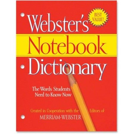 Merfsp0566   Merriam Webster Notebook Dictionary