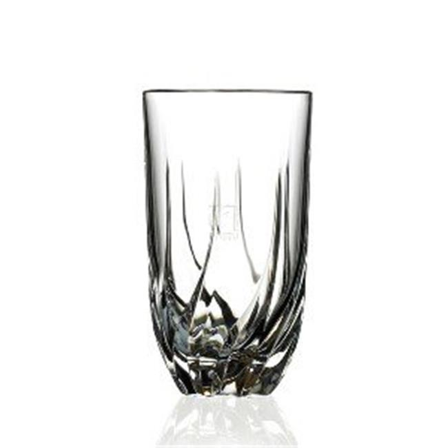 Lorenzo Import 239430 RCR Trix Crystal Highball Glass set of 6