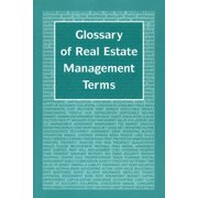 Glossary of Real Estate Management Terms - eBook
