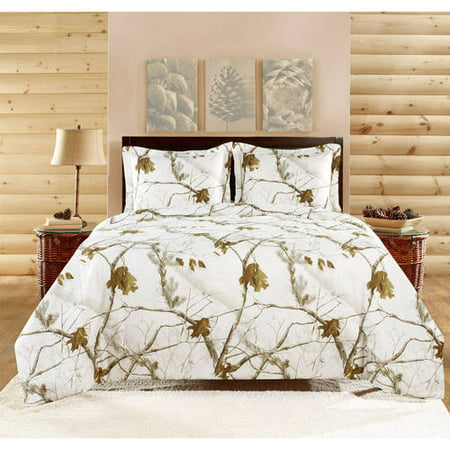 Realtree Brights 3 Piece Comforter Set Full Walmart Com