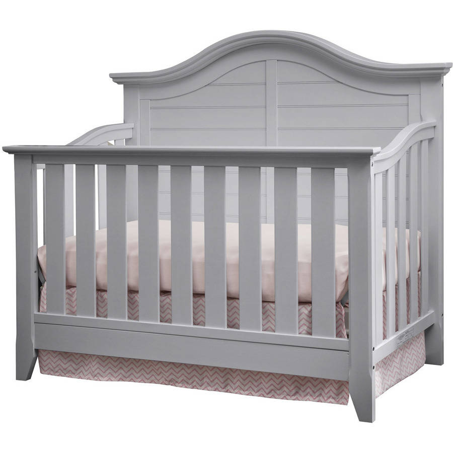 Thomasville Kids Southern Dunes Lifestyle 4-in-1 Convertible Crib Pebble Gray
