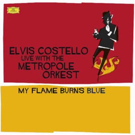 Elvis Costello - My Flame Burns Blue [CD] - Elvis Side Burns