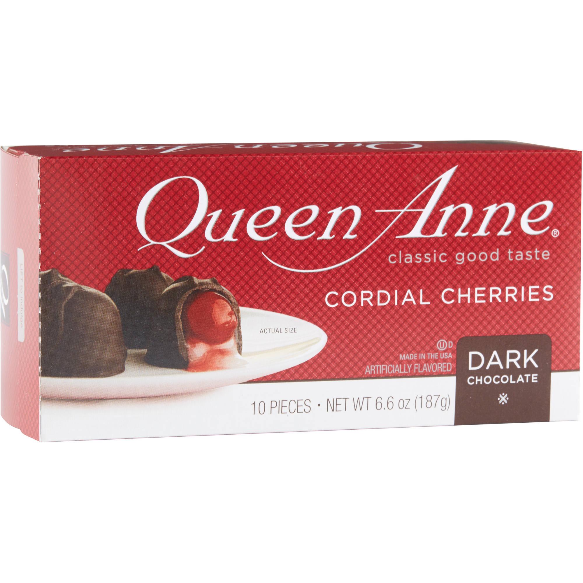 Queen Anne Cordial Cherries Dark Chocolate