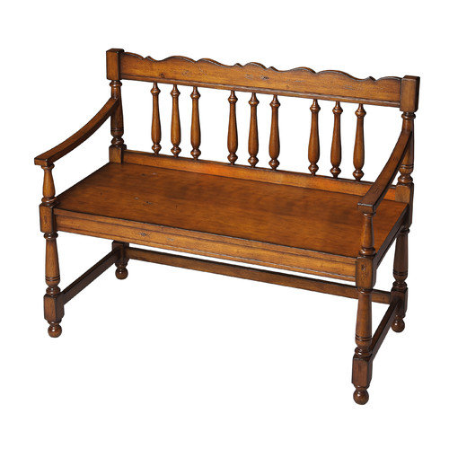 Bolton Bench - Old World Cherry