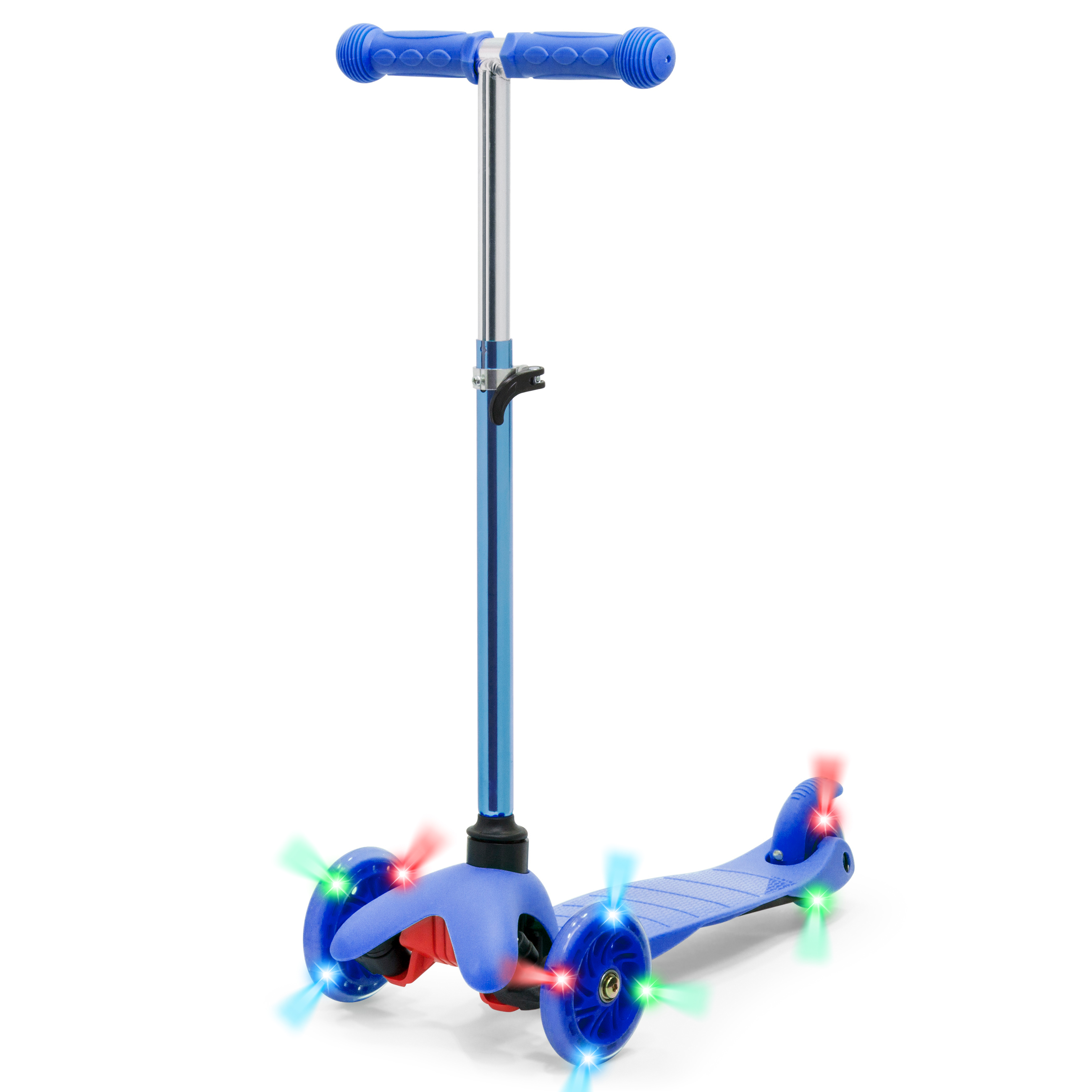 Best Choice Products Kids Mini Kick Scooter w  Light-Up Wheels and Height Adjustable T-Bar... by Best Choice Products