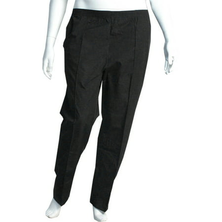 23122cd8306 Personal Touch Health Care Apparel - Personal Touch Full Elastic Waist Scrub  Pants (XL Petite) Black - Walmart.com