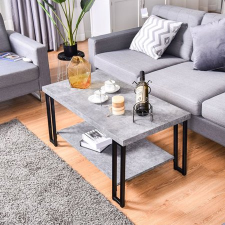 Wrought Studio Elliana Accent Coffee (Wrought Iron Coffee Table Base)