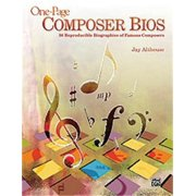 Alfred One-Page Composer Bios (Teacher's Handbook)