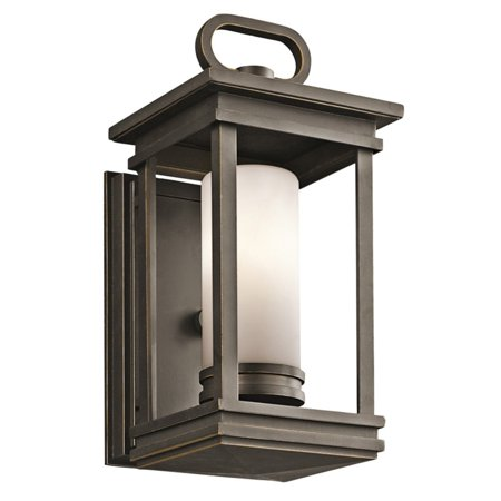 Kichler South Hope 1 Light Outdoor Wall Sconce - 11.75H in. Rubbed