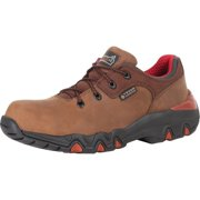 "rocky work shoes mens 3"" bigfoot waterproof oxford brown rkyk066"