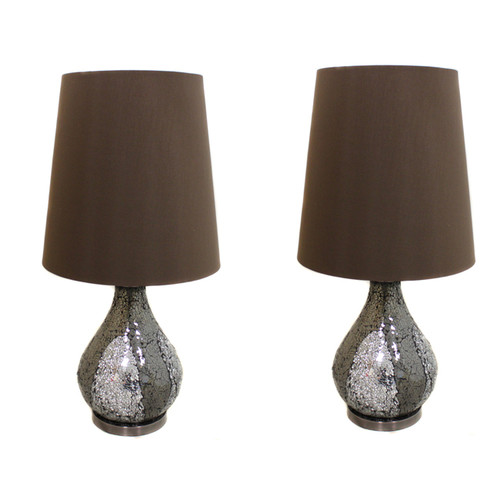 EC World Imports Casa Cortes 26'' Table Lamp Set (Set of 2) by ecWorld