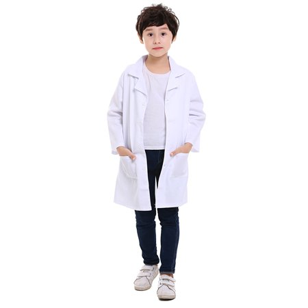 TOPTIE Kids Unisex Lab Coat Uniform, Doctor Role Play (There's No Business Like Show Business Costumes)