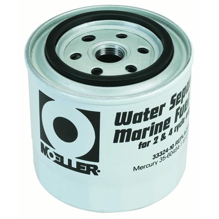 Moeller 033324-10 Water Separating Fuel Filter, Short