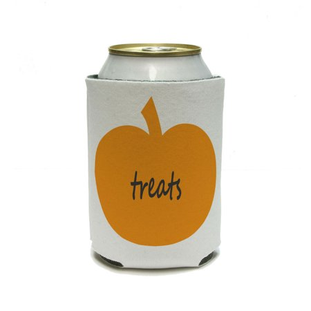 Dry Ice In Drinks For Halloween (Pumpkin Treats - Halloween Thanksgiving Harvest Fall Can Cooler Drink Insulator Beverage Insulated)