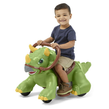 Rideamals Dinosaur Ride-On Toy by Kid Trax