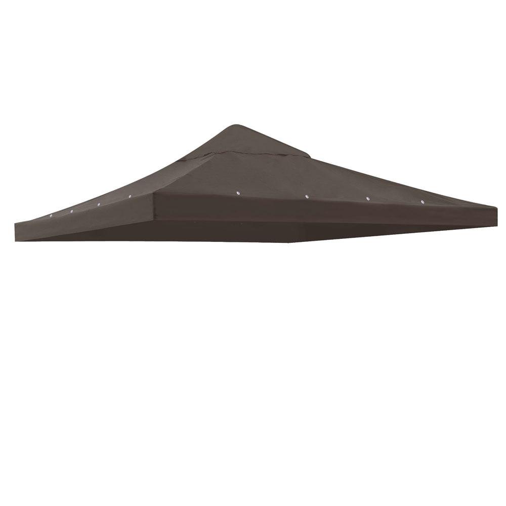Yescom 10'x10' Gazebo Canopy Replacement 1 Tier Outdoor P...