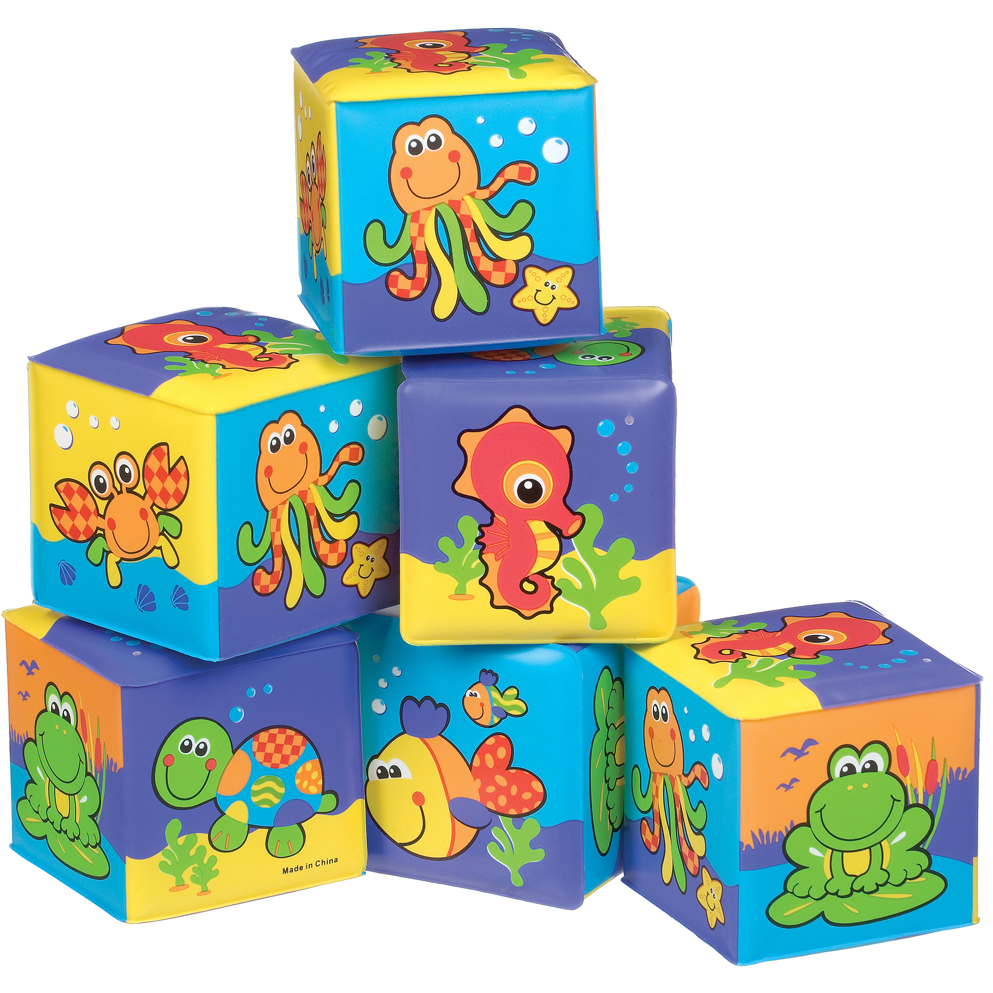 Playgro First Soft Blocks