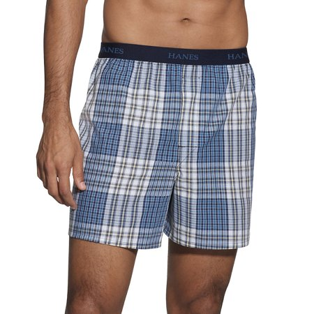 Hanes Classics Men's TAGLESS® Boxer with Comfort Flex® Waistband 5-Pack - 765BP5