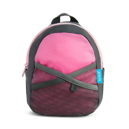 Brica By-My-Side Safety Harness Backpack, Pink (Mickey Backpack Harness)