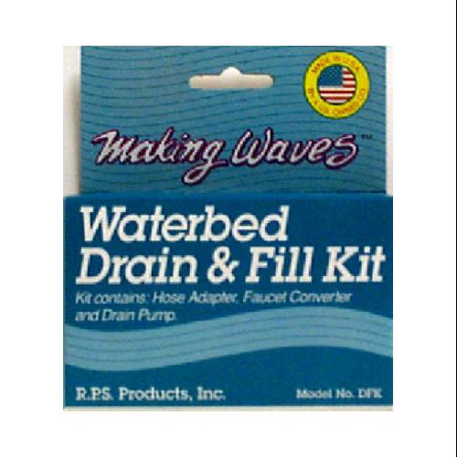 RPS Products, Inc. DFK Waterbed Drain And Fill Kit-FILL & DRAIN KIT