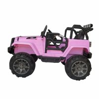 Akoyovwer Kids Ride On Car 12-volts with Remote Control for Childern Kids Christmas Birthday Gift Pink