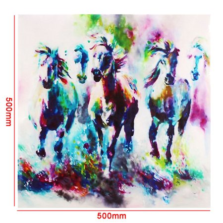 Modern Horse Picture Canvas Prints Oil Painting Wall Art Home Office Decor No Frame - image 1 de 5