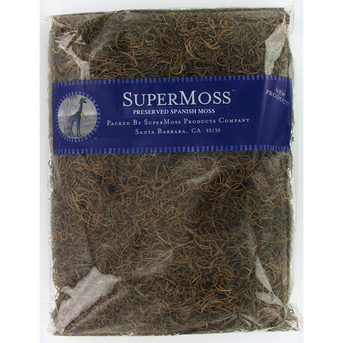 Super Moss 26924 32 Oz Natural Spanish Moss