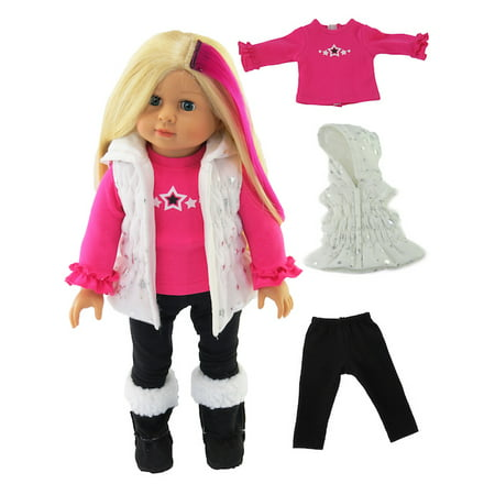 Star Vest Set | 18 Inch American Girl Doll Clothes ()