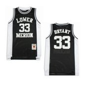Lower Merion Aces Kobe Bryant Black High School Jersey