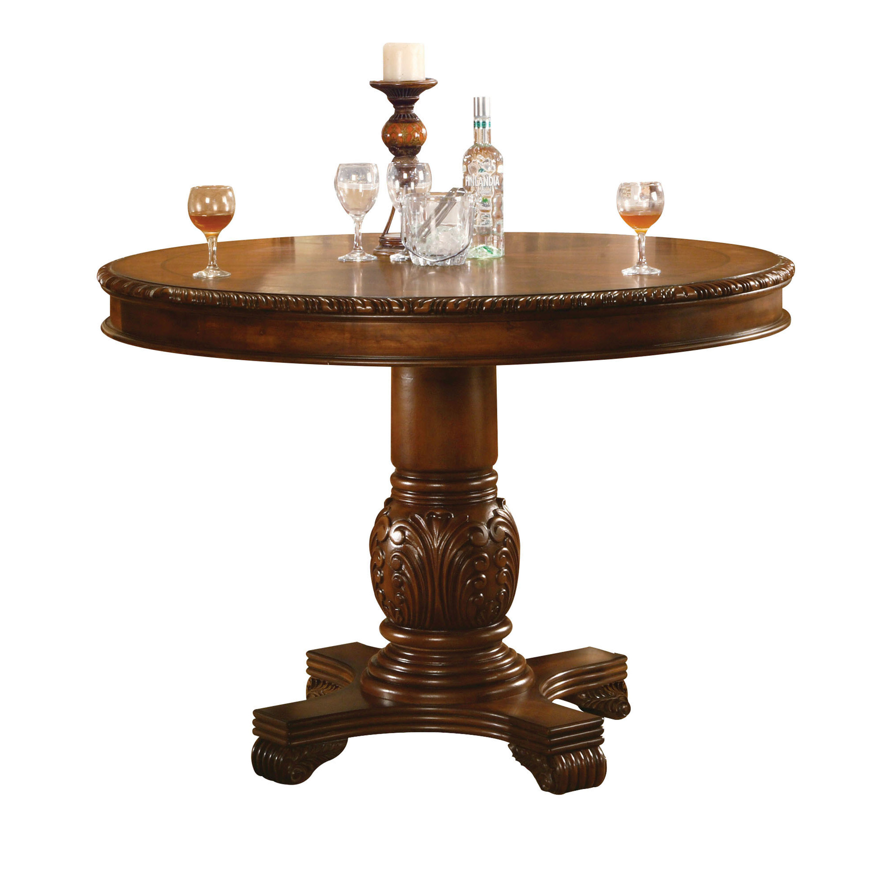 ACME Chateau De Ville Counter Height Table, Cherry