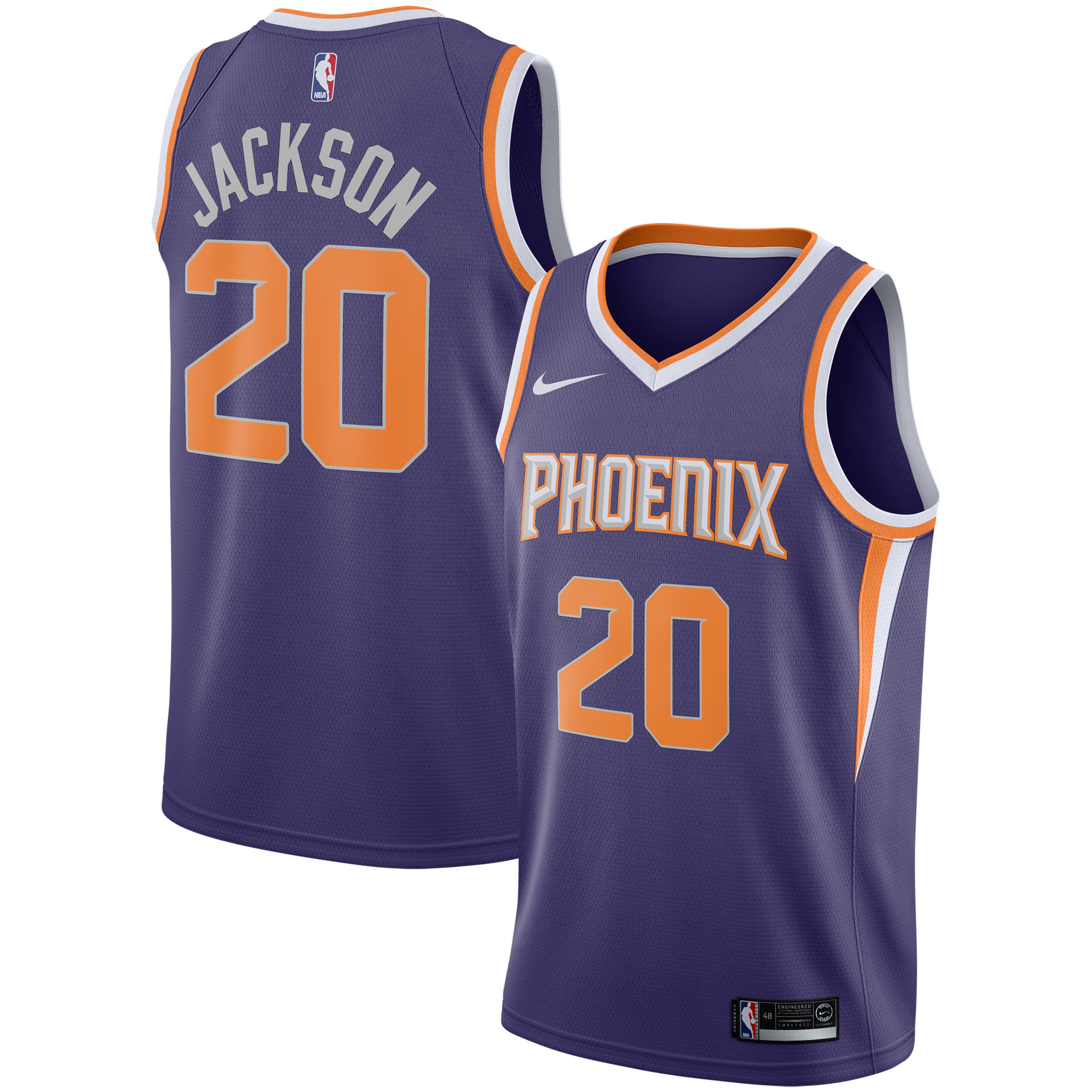 Josh Jackson Phoenix Suns Nike Replica Swingman Jersey - Icon Edition - Purple
