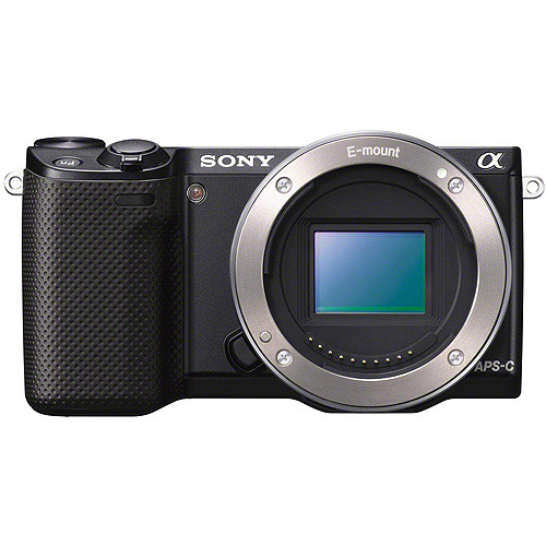 Sony  NEX-5R/B 16.1 MP Mirrorless Digital Camera with 3-Inch LCD - Body Only (Black)
