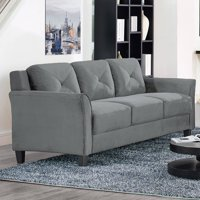 Deals on Lifestyle Solutions Ireland Sofa in Dark Grey Fabric