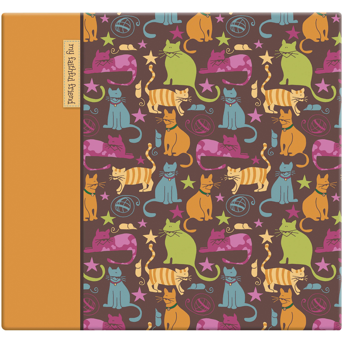 "MBI Cute Kittie Postbound Album, 12"" x 12"""