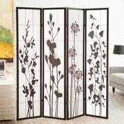 Botanical Print Room Divider