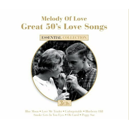 Melody Of Love: Great 50's Love Songs - Halloween 50's Songs