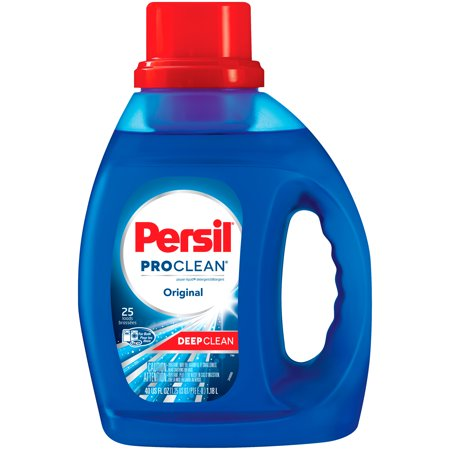 Persil ProClean Liquid Laundry Detergent, Original, 40 Fluid Ounces, 25 Loads