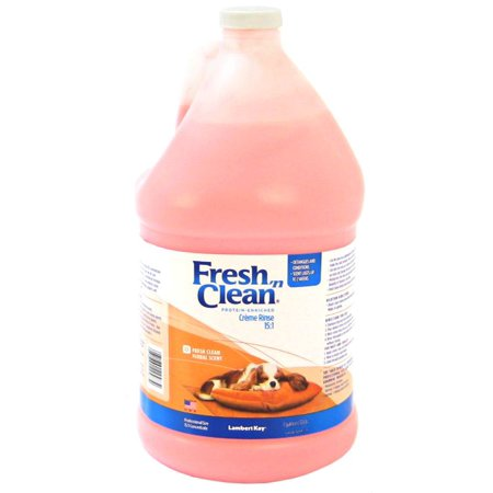 Fresh 'n Clean Creme Rinse - Fresh Clean Scent 1 Gallon Concentrate - (Makes 15 Gallons)