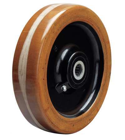 HAMILTON W-820-LP-3/4 Caster Wheel, 1750 lb., 8 D x 2 In.