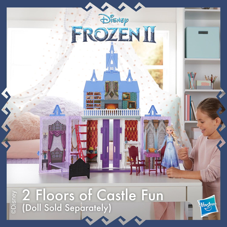 Disney Frozen 2 Portable Arendelle Castle Playset Walmart Exclusive Walmart Com Walmart Com