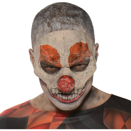 Evil Clown Mask Adult Halloween Accessory - Halloween Evil Bunny Makeup