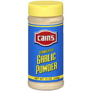 Cain's Garlic Powder Granulated Spice, 12 oz